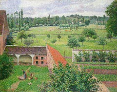 "Camille Pissarro ""View from my Window, Eragny-sur-Epte"""